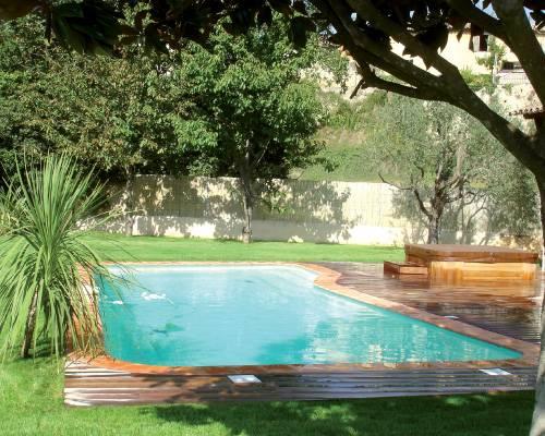 Nos r alisations de pose piscine mod les bruxelles et for Piscine coque polyester belgique